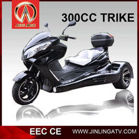 250cc 300cc reverse trike three wheel atv military armored vehicle