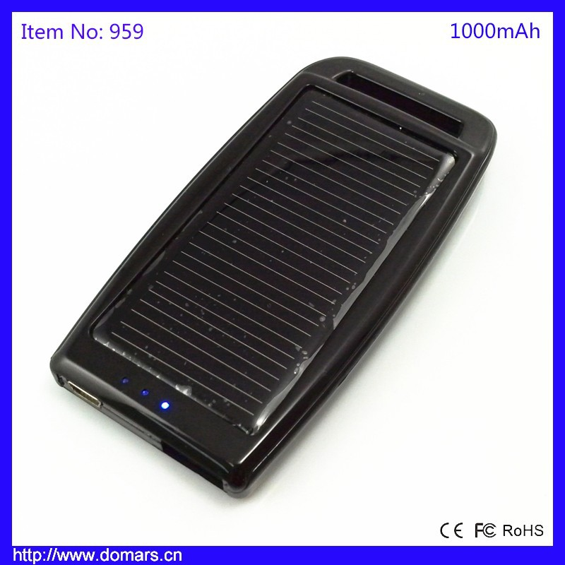 Hot Sale Low Price Handy Solar Powered Power Bank Mobile Power Supply