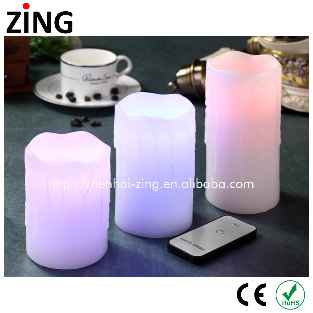 best price Flameless LED Candle Wick with moving candle