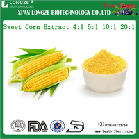 OEM factory supply Sweet Corn Extract Powder/Zea mays L. Extract 4:1 5:1 10:1 20:1
