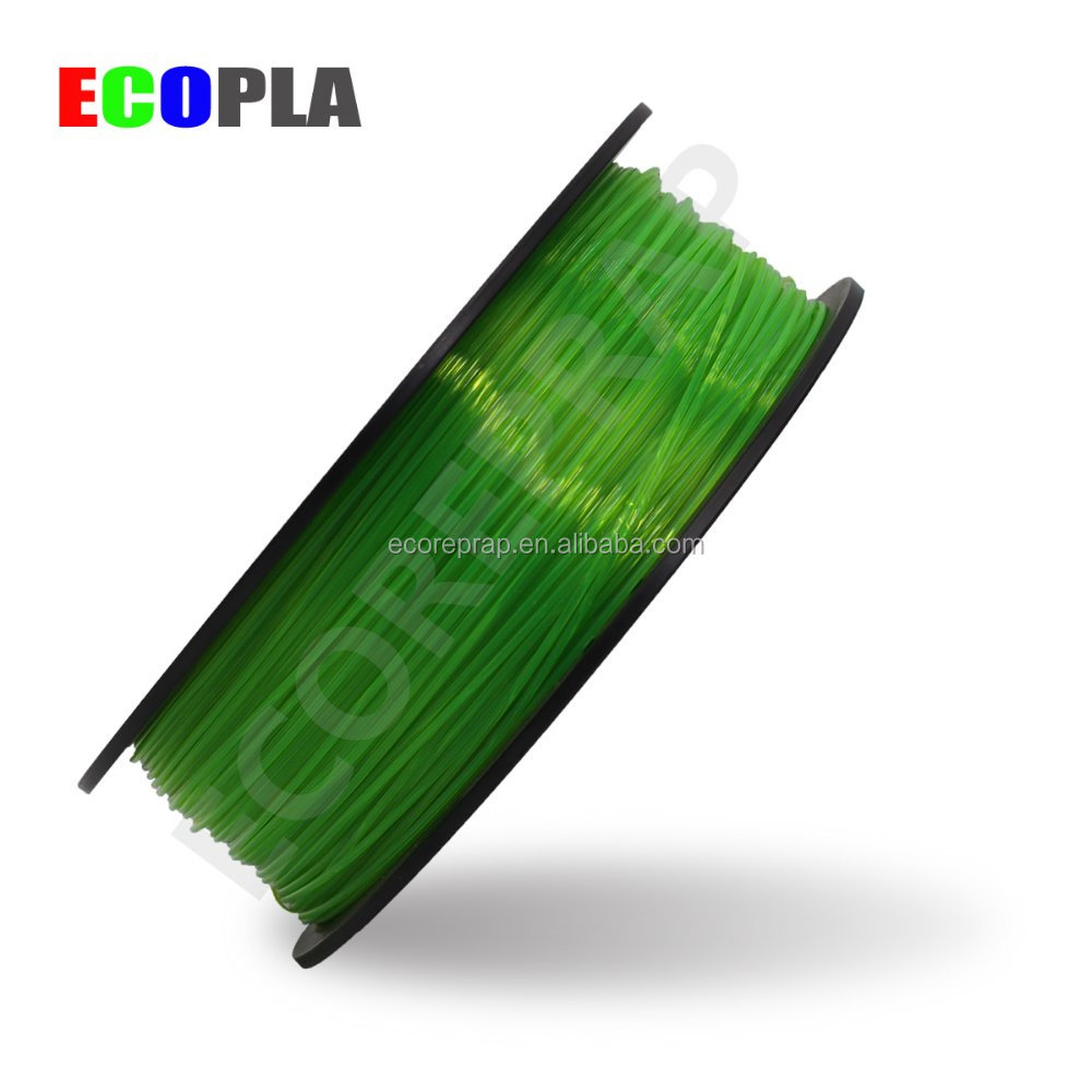 2017 recycled pet pla filament flashforge 3d 1.75mm PLA material rod