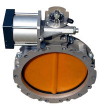 spare parts for free 100-400 mm double flange pneumatic butterfly <strong>valve</strong>