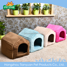 High Quality Breathable Fabric house shape dog bed