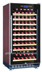 Fan circulating single zone 64-68bottles Wine cooler SRW-68S home use and commercial wine refrigerator