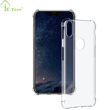 Shockproof Crystal Clear Mobile Phone Back Case For iphone x 10, Transparent Back Cover tpu For iphone x 10