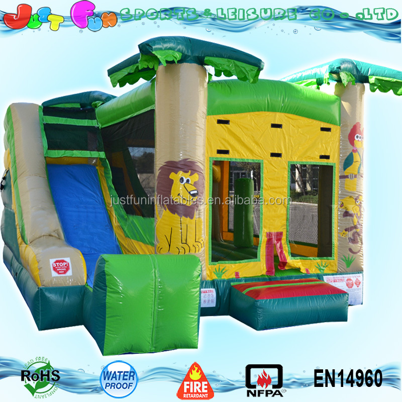 commercial forest jump castle with prices inflatable factory direct sale