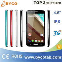 OEM factory supply high quality 4.5inch MTK6572A,1.2GHz /Dual core 2G mobile phone,