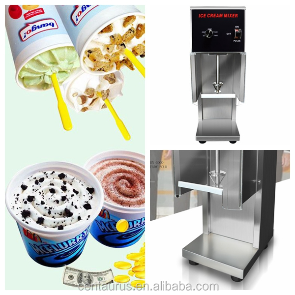 CE ROHS certification blizzard dq ice cream machines for european with best price