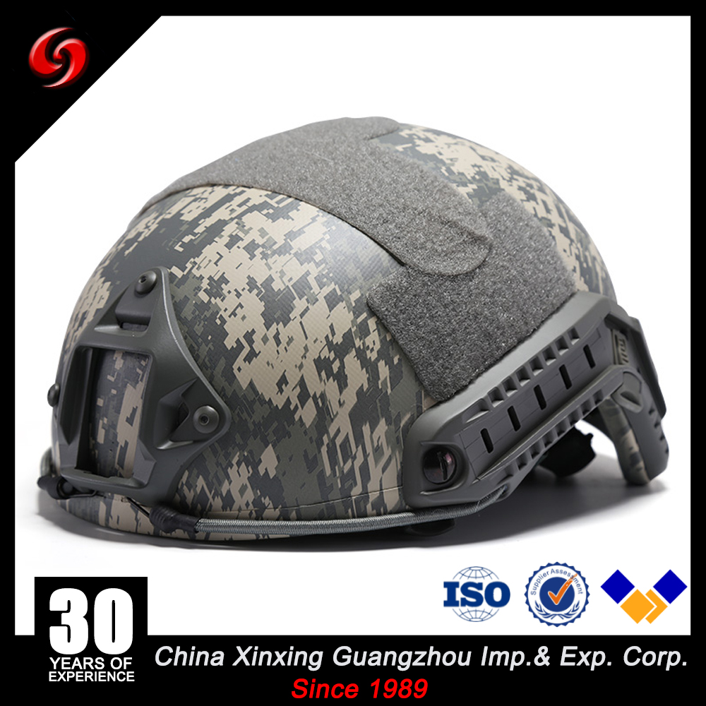ACH FAST bullet proof ballistic aramid bulletproof pe/steel helmet lightweight NIJ3A military helmet for Tactical
