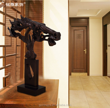 customized Bronze horse head statue decoration for hotal table handing