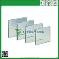 customized sizes x ray protective lead glass for medical use