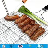 Professional production stainless steel barbecue bbq grill wire mesh & barbecue wire mesh & galvanized barbecue grill