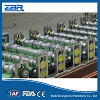 ISO and CE ZBR-ZR971.1-1220 Passed Full-automatic Hydraulic Metal Sheet Wall and Roofing Panel Forming Machine