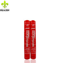 china supplier red tube 80ml container homes with fip top cap
