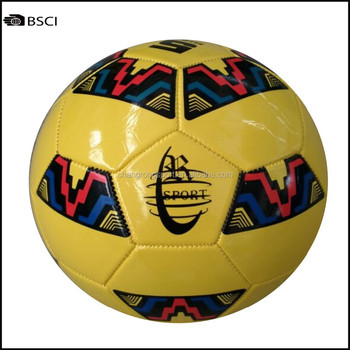 Colorful PVC Soccer Ball In Stock Promotional Price