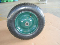 Wheelbarrow Tire 3.50-8 true temper tire and wheel New