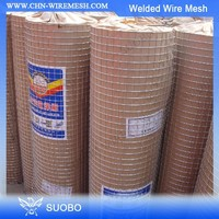Welded Wire Mesh Roll Welded Wire Mesh Sizes 1/2 Inch Plastic Coated Welded Wire Mesh