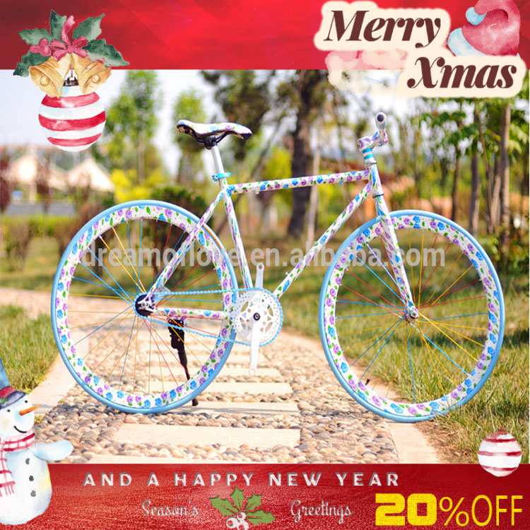 "26"" fixed gear racing steel german sports bicycle brand"