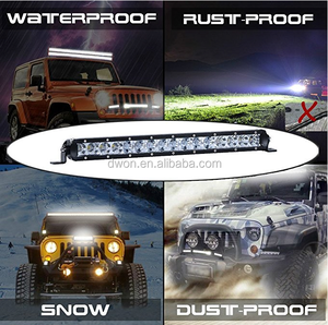 80W double row led lighting bar ip67 led light bar for cars,jeep,auto parts wholesale led light bar