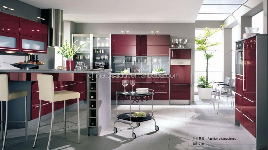Modulaire keuken kast en mdf kasten, melamine bord, spaanplaat ...