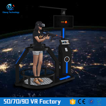 Perfect body design virtual reality simulator walking platform vr treadmill india