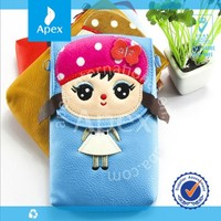 cute cartoon children pu phone bag cell phone bag wallet messenger bag