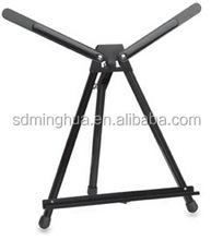 high quality portable metal table easel tabletop metal easel for sale