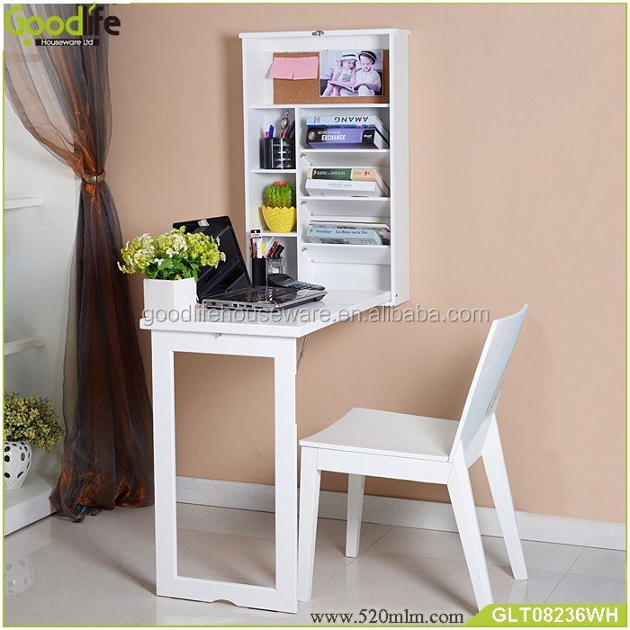 Europe hot sale wall mounted folding computer desk
