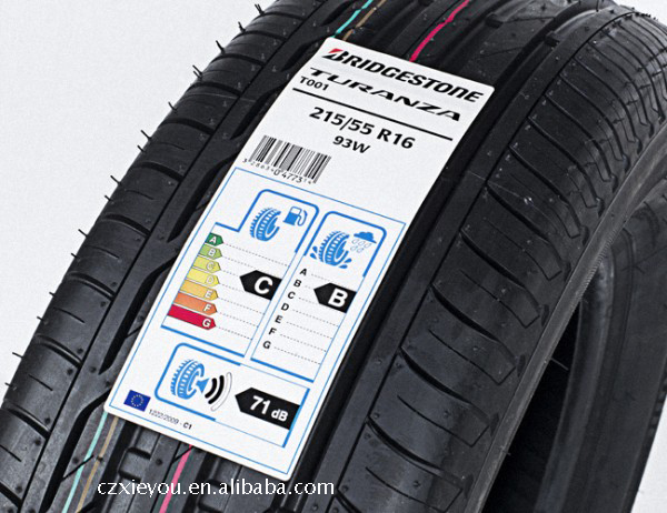 Custom High Quality Waterproof Tires Adhesive Label