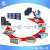 Keyland 1MW 5MW Manual Economic Mono Poly Solar Panel Production Line Equipment For Solar Panel Making Factory
