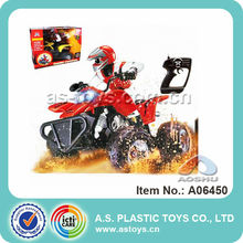 RC Stunt Motorcycle With Light and Tail Motion