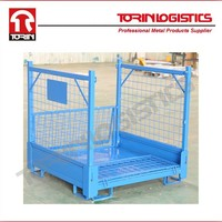 Wire Container Storage Cage Wire Mesh
