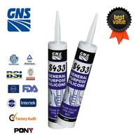 Brand new flexible acidic silicone sealant products with CE certificate