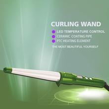Professional hair curler LED temperature control curling iron curling wand