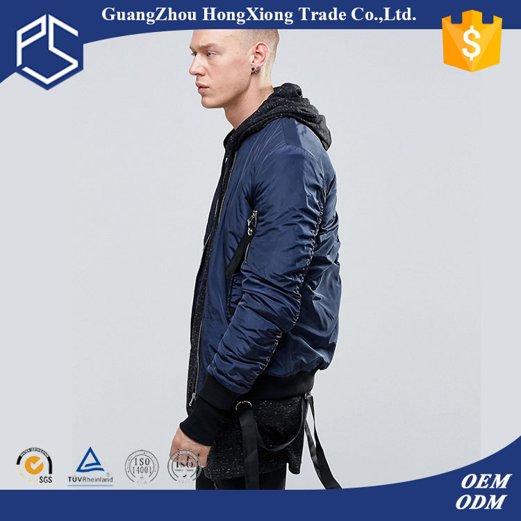 High Quality Winter Men Custom Plain Fashion Windproof Jacket Motorcycle