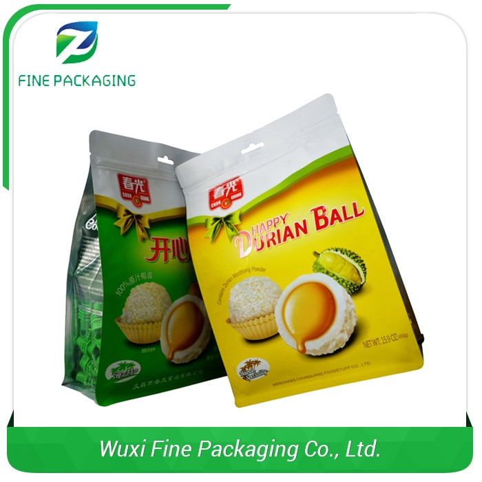 Authentic Factory Laminated Material PET Wheat Flour Packaging Bags