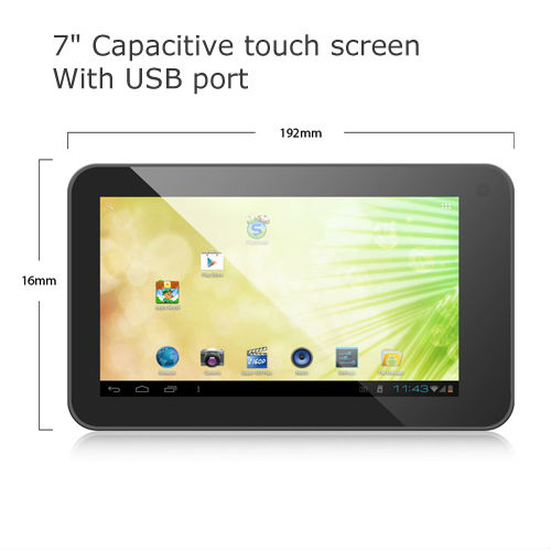 Hot selling via 8850 android mid tablet pc manual with hifi sound