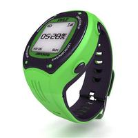 Pyle Sports Multi-Function Digital LED Sports Training Watch (Green Color)