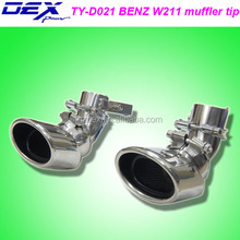 car part tuning dedicated for b-enz w211 exhaust muffler