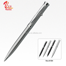 New Fashion Slim Laser Pointer Metal Twist Ball Pen Bulk Buy from China