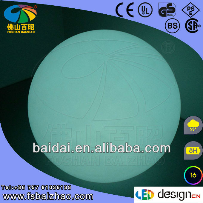 party decoration inflatable battery led lighting ball