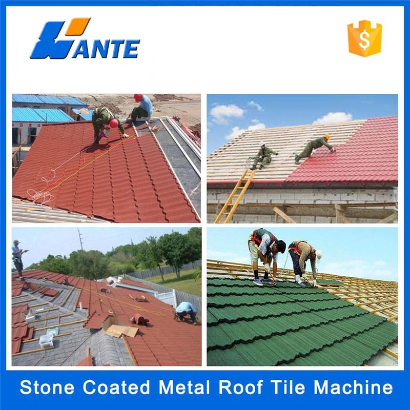 Trade Assurance waterproof galvanized factory direct roofing shingles,stone coated metal rood tile