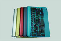 2013 NEW arrival HOT aluminum bluetooth keyboard for ipad mini
