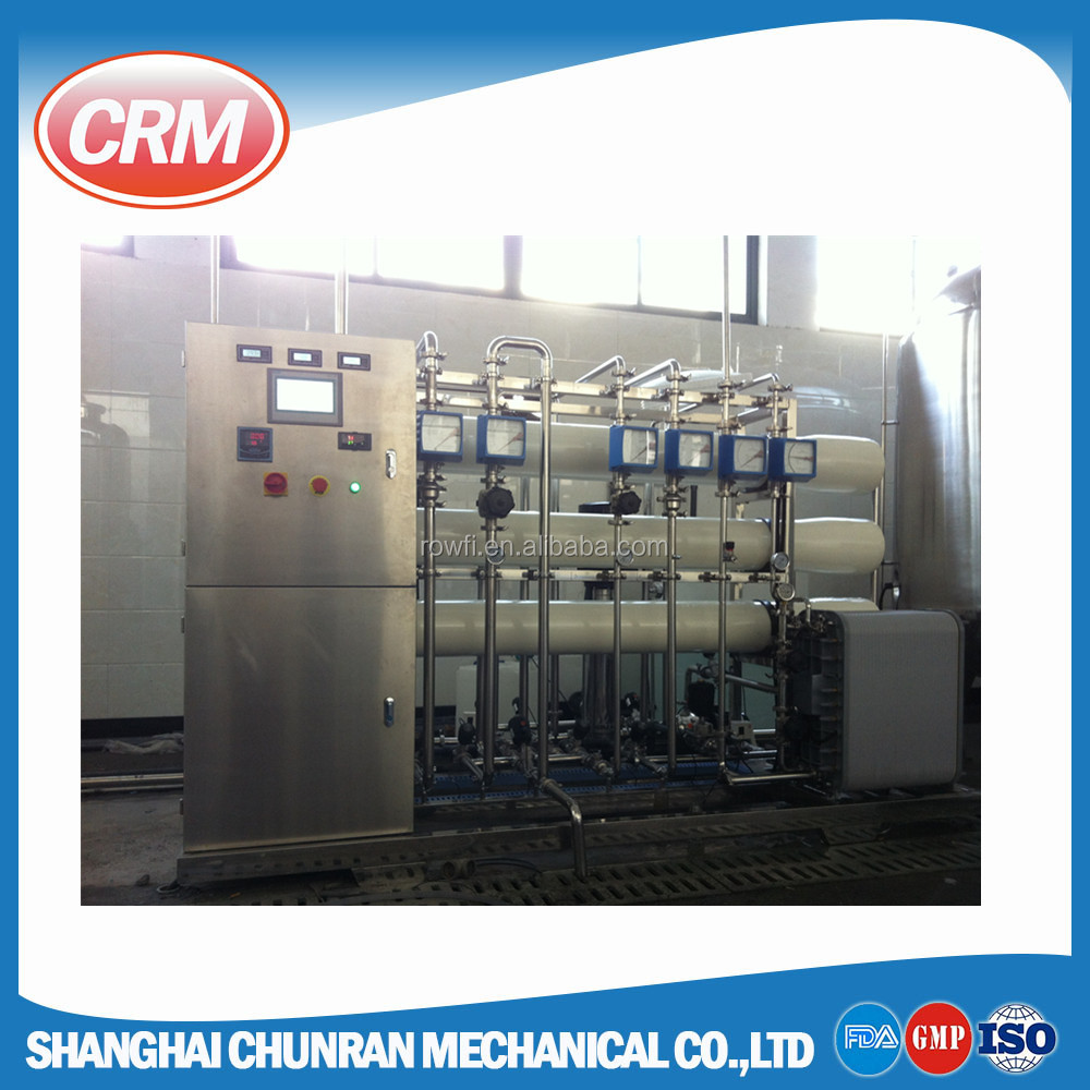CE approved reverse osmosis ro di water system / mixed bed plant