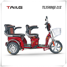 dongguan tailg china motorized passenger electric tricycle price adult