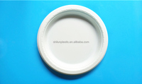 7inch high quality Disposable food container plastic Plates for party,restaurant,and hotel