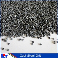angular sand blasting bearing steel grits G14 for metal sandblasting