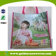 Ultrasonic nonwoven bags full color printing pp nonwoven bag custom-made fashion non woven shopping bag Quanzhou