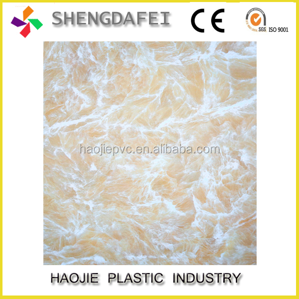 UV Coating stone hot selling marble design stone pvc board interior wall paneling