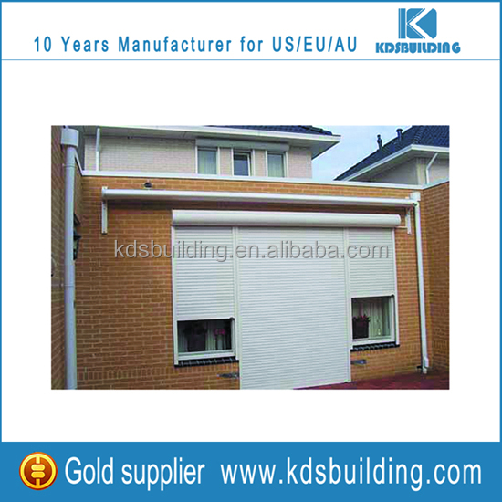 Outdoor Sun Shade European Style Aluminum Roller Shutters for aluminium roll door window project